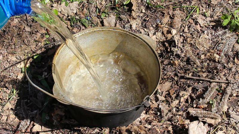 Заливаем воду Бозбаш