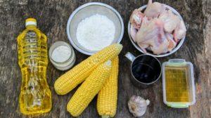 Ингредиенты для куриные крылышки