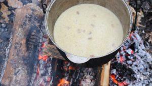 Грибной суп из шампиньонов варим